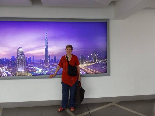 Decima with Image of Burg Khalifa