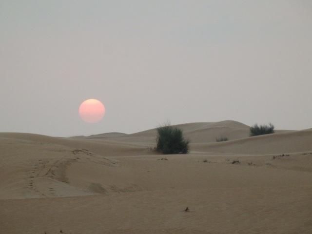 RED SUN, DUBAI DESERT