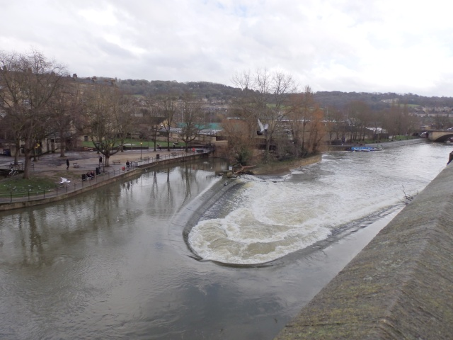 The Weir, River Avon, BATH.